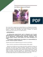 Fabricación de Lámparas de Plasma