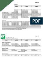 Arnet Equipment List 2010-05-18