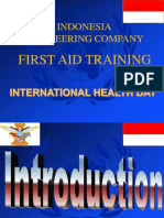 CIMIC First Aid Training.ppt 2017