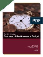 LAO Governor's Budget Summary