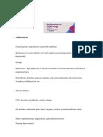 Azithromycin Drug Study
