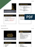 Coverage of Master Plumber Exam_2014