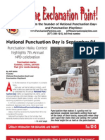 Celebrate National Punctuation Day September 24