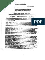Jared Chavez Arrest Affidavit