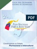 Plan Nacional para el Buen Vivir 2009-2013 (versión completa)