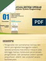 Materi Sistem oprasi industri