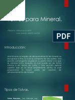 Tolvas Para Mineral