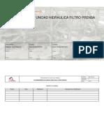 PME-0370-06 Mantto Unidad Hidraulica Filtro Prensa Flsmith Rev D