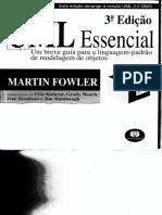 UML Essencial - Um Breve Guia Para a Linguagem-padrao de Modelagem de Objetos - 3ed - Martin Fowler