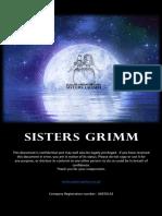 Sisters Grimm Ltd Pitch Deck
