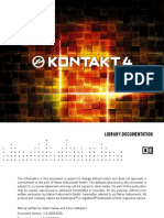Kontakt 4 Library Documentation English
