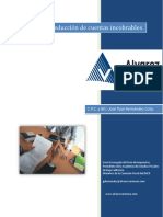 Analisis de La Deduccion de Cuentas Incobrables