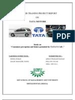 Traning in Tata Motors
