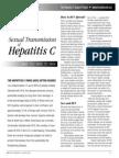 Sexual Transmission of Hepatitis C