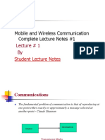Mobile and Wireless Communication Complete Lecture Notes #1