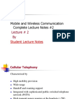 Mobile and Wireless Communication Complete Lecture Notes #2