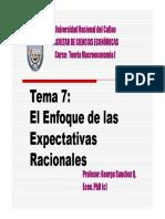 EL ENFOQUE DE LAS EXPECTATIVAS RACIONALES-Prof.Gerorge Sanchez.pdf