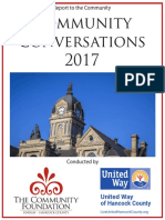 Community Conversations 2017 Report to the Community