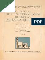 Catalogo de Iglesias Edo de Hgo.