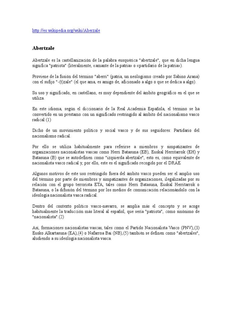 Euskal Herria en Wikipedia