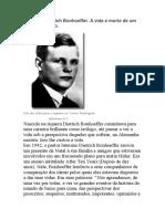 História de Dietrich Bonhoeffer