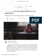 _110 Preguntas de Cultura General y Sus Respuestas