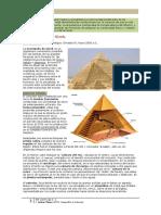 comentario arte piramides de GIZAH