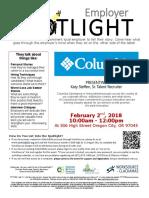 Employer Spotlights February 2018