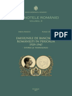coperta -  Emisiunile si Bancnotele romanesti in perioada 1929-1947