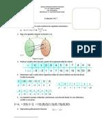 Evaluación Octavo