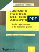 Historia Política del Ejército Argentino