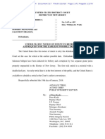 United States' Notice of Intent to Retry Case