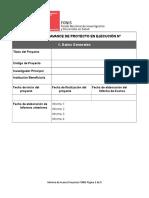 Informar el avance de los proyectos.doc