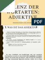 Valenz Der Adjektiv KrisztaundMeli