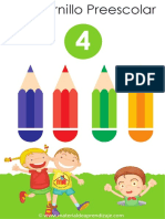 Cuadernillo preescolar 4