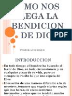 1. COMO NOS LLEGA LA BENDICION DE DIOS.pptx