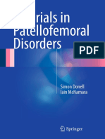 Tutorials in Patellofemoral Disorders-(2017)