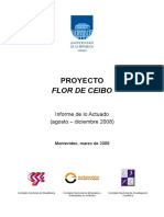 Informe Flor de Ceibo 2008