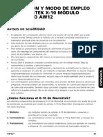 Manual x10 Aw12