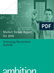 Ambition Technology Market Trends Report Q3 2010