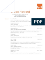 Grace Howard - 2018 Resume