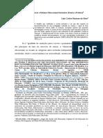 Sociedade Igualitária e Sistema Educacional Inclusivo (Teoria e Prática)