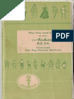 Anker RZ-54 Manual