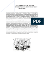 Conceptos Tradicionales Del Análisis Económico