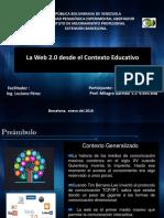 La Web 2.0 Desde El Contexto Educativo