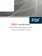 Rsa Authentication Manager 8.2 SP1 Setup Config Guide