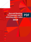 Gun and Hunting TV Channels and the Shooting Sports Industry 2018