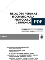Relacoes Publicas