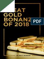 Great Gold Bonanza 2018