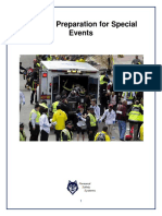 PSS Emergency Preparedness Guidelines for Mass, Crowd-Intensive Events